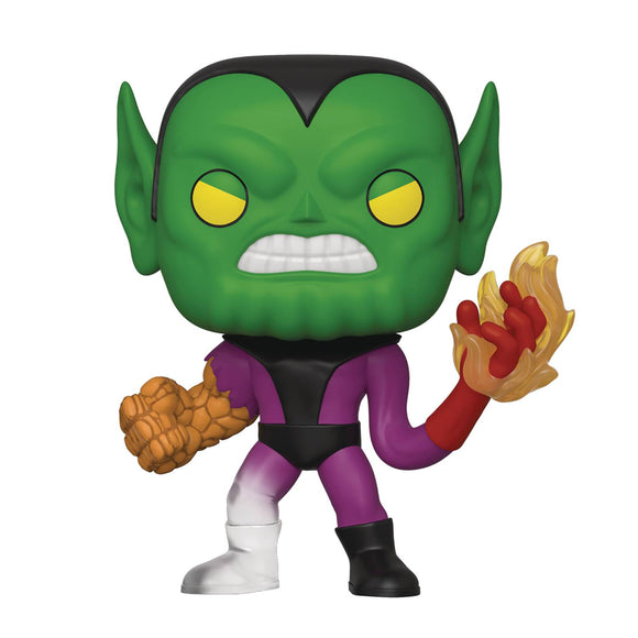 POP MARVEL FANTASTIC FOUR SUPER SKRULL VIN FIGURE