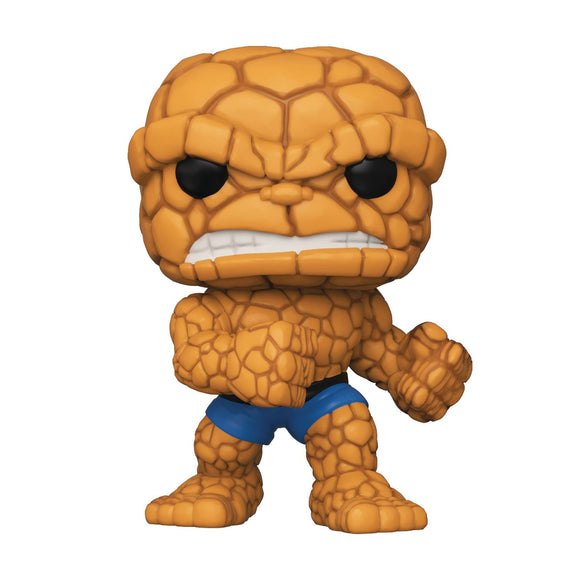 POP MARVEL FANTASTIC FOUR THING VIN FIGURE