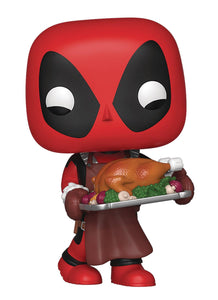 POP MARVEL HOLIDAY DEADPOOL VINYL FIGURE