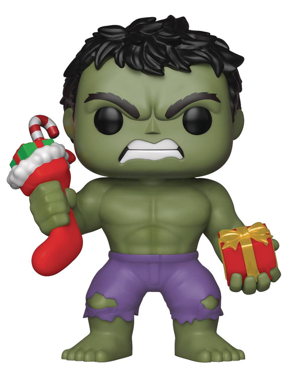 POP MARVEL HULK  STOCKING & PLUSH VINYL FIGURE