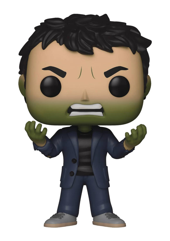 POP MARVEL INFINITY WAR S2 - BANNER HULK HEAD VINYL FIGURE