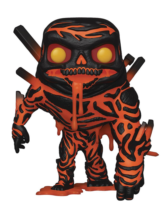 POP MARVEL SPIDER-MAN FAR FROM HOME MOLTEN MAN VINYL FIGURE