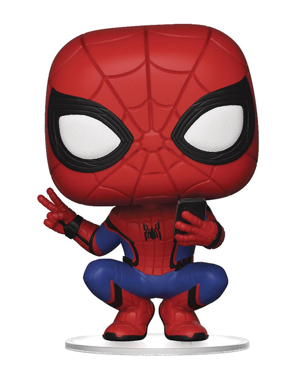 POP MARVEL SPIDER-MAN FAR FROM HOME SPIDER-MAN VINYL FIGURE