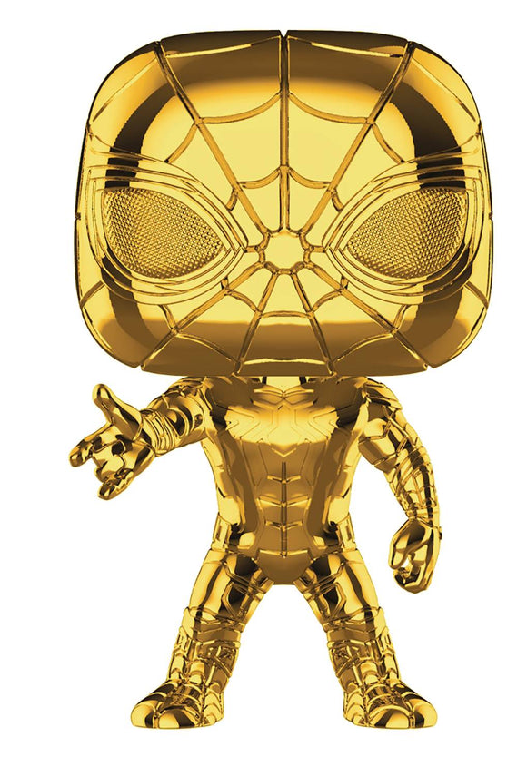 POP MARVEL STUDIOS 10 IRON SPIDER VINYL FIGURE