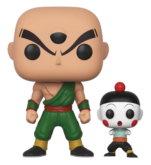 POP & BUDDY ANIMATION DRAGONBALL Z TIEN & CHIAOTZU VINYL FIGURE