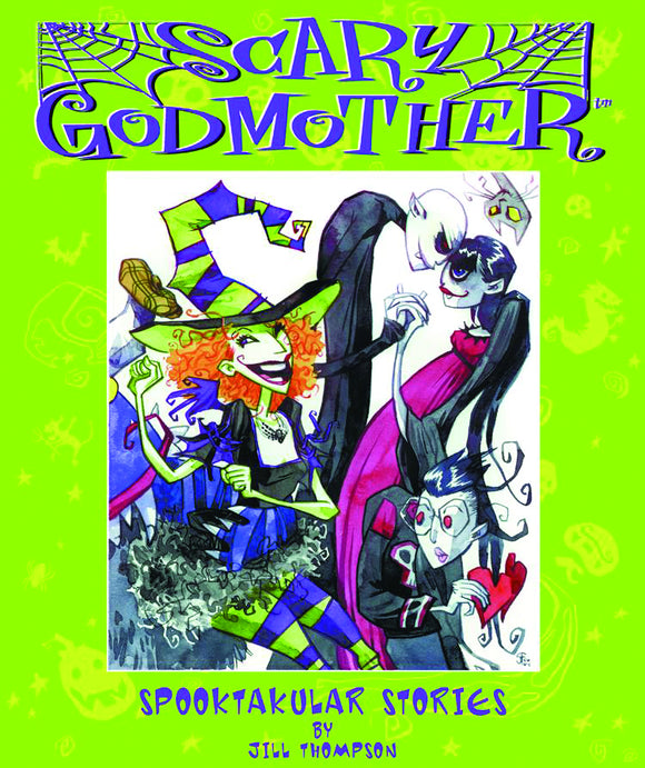 SCARY GODMOTHER SPOOKTAKULAR STORIES TP