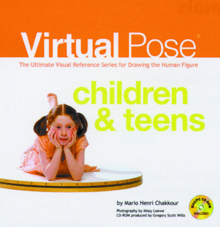 VIRTUAL POSE CHILDREN & TEENS HC W/CD-ROM