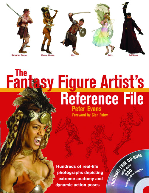 FANTASY FIGURE ARTISTS REFERENCE FILE WITH CD ROM
