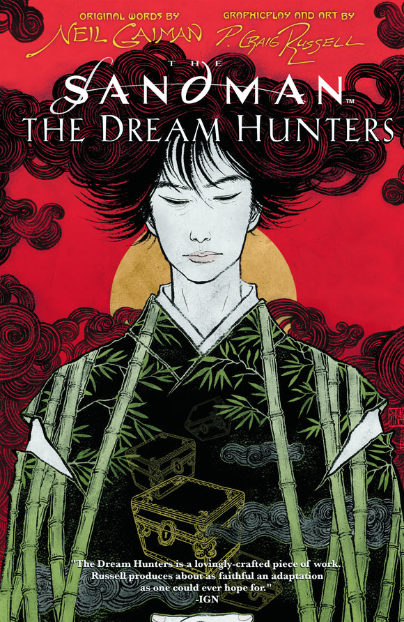 SANDMAN THE DREAM HUNTERS HC