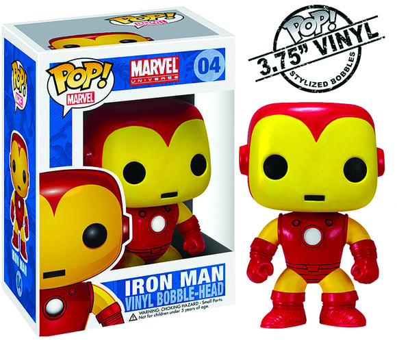 POP MARVEL IRON MAN VINYL FIGURE