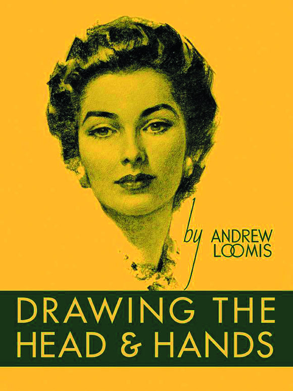 ANDREW LOOMIS DRAWING HEAD & HANDS HC