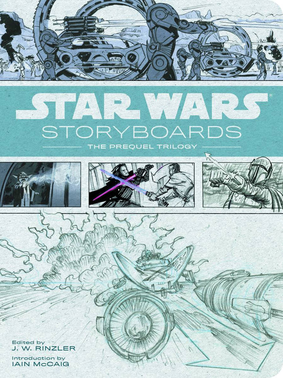 STAR WARS STORYBOARDS PREQUEL TRILOGY HC