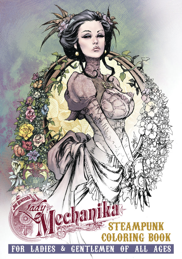 LADY MECHANIKA STEAMPUNK COLORING BOOK TP VOL 01