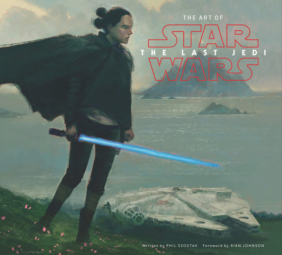 ART OF STAR WARS LAST JEDI HC