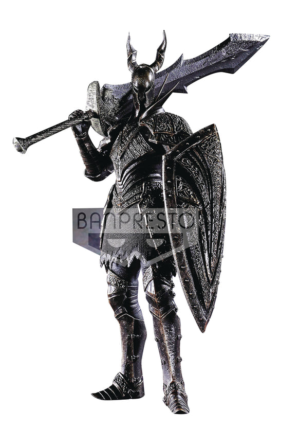 DARK SOULS SCULPT COLL V3 BLACK KNIGHT FIGURE