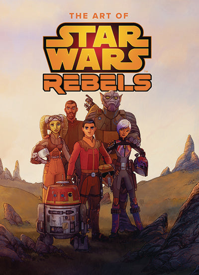 ART OF STAR WARS REBELS HC