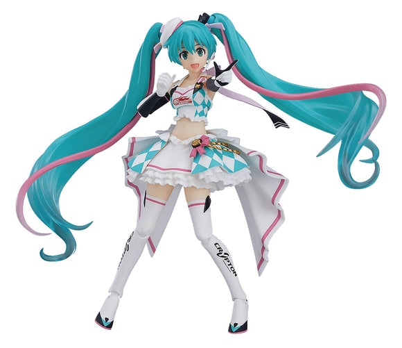 HATSUNE MIKU GT PROJECT RACING MIKU 2019 FIGMA ACTION YL FIGURE