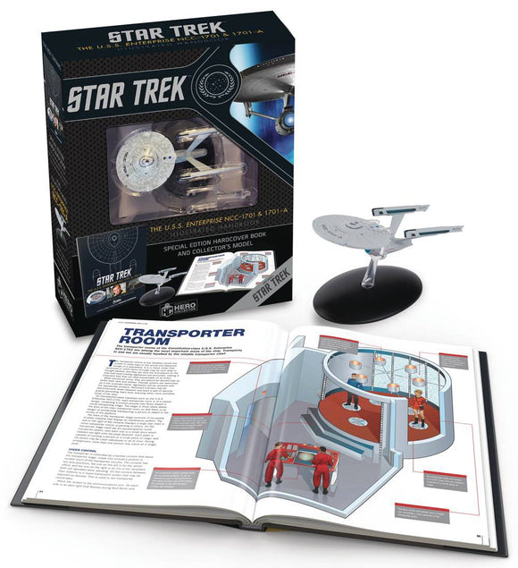 ST USS ENTERPRISE NCC 1701 ILLUS HANDBOOK W COLLECTIBLE