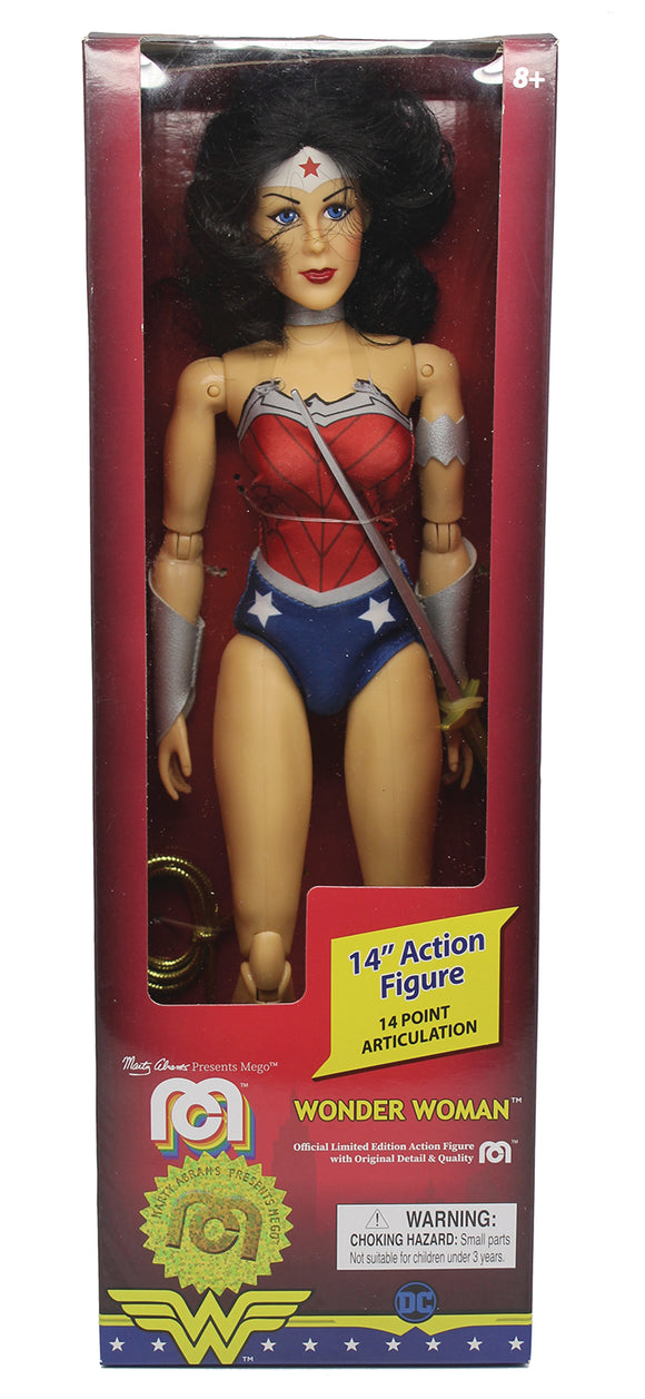 MEGO DC COMICS WAVE 5 NEW 52 WONDER WOMAN 14IN ACTION FIGURE