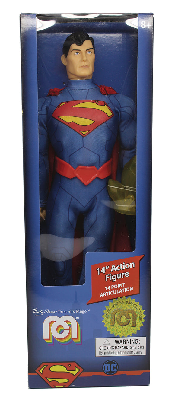 MEGO DC COMICS WAVE 5 NEW 52 SUPERMAN 14IN ACTION FIGURE