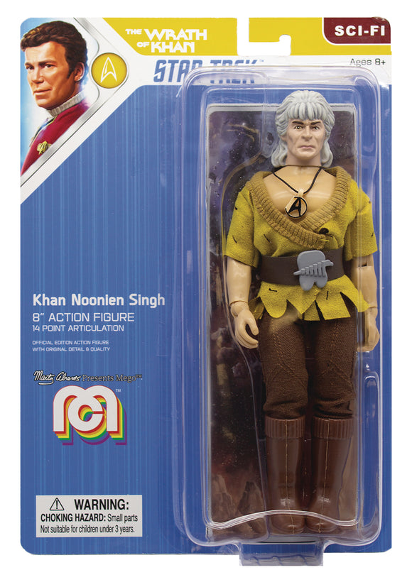 MEGO SCI-FI WAVE 7 STAR TREK 2 MOVIE KHAN 8IN ACTION FIGURE