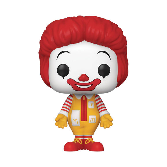 POP AD ICONS MC DONALDS RONALD MCDONALD VINYL FIGURE
