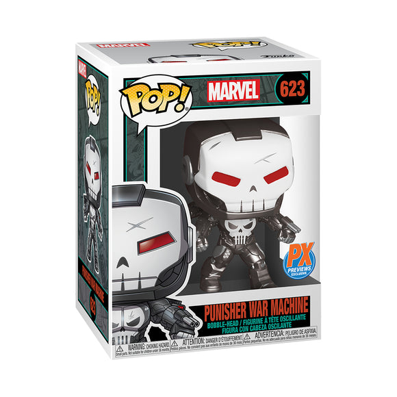 POP MARVEL PUNISHER WAR MACHINE PX FIGURE
