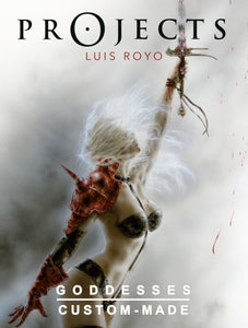 PROJECTS GODDESSES LUIS ROYO ARTBOOK HC