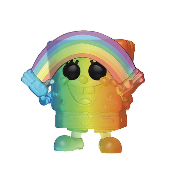 POP ANIMATION PRIDE 2020 SPONGEBOB RAINBOW VIN FIGURE