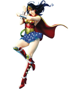 DC COMICS ARMORED WONDER WOMAN 2ND ED BISHOUJO STATUE