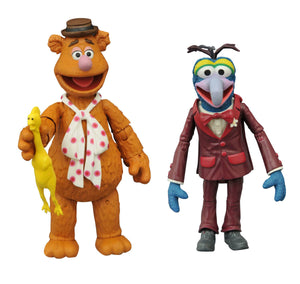 MUPPETS BEST OF SERIES 1 GONZO WITH FOZZIE FIGURES