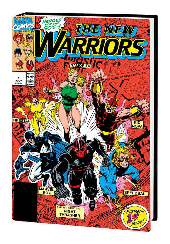 NEW WARRIORS CLASSIC OMNIBUS HC VOL 01 BAGLEY DM VAR NEW PTG