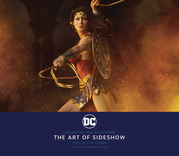 DC COLLECTING MULTIVERSE ART OF SIDESHOW HC