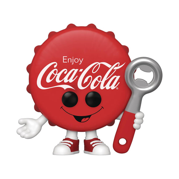 POP COKE COCA COLA BOTTLE CAP VINYL FIGURE
