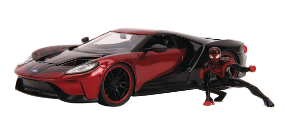 MARVEL 2017 FORD GT W/MILES MORALES 1/24 VEHICLE