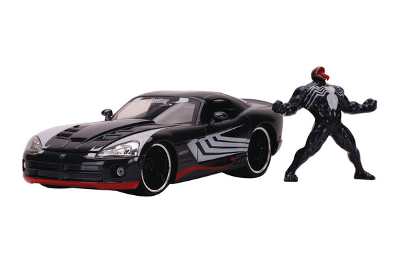 MARVEL 2008 DODGE VIPER SRT10 W/VENOM 1/24 VEHICLE