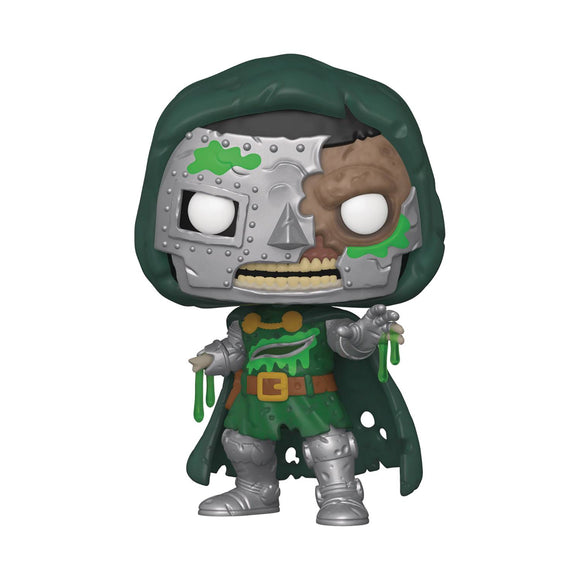 POP MARVEL ZOMBIES DR DOOM VINYL FIGURE