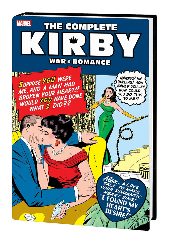 COMPLETE KIRBY WAR AND ROMANCE HC ROMANCE DM VAR