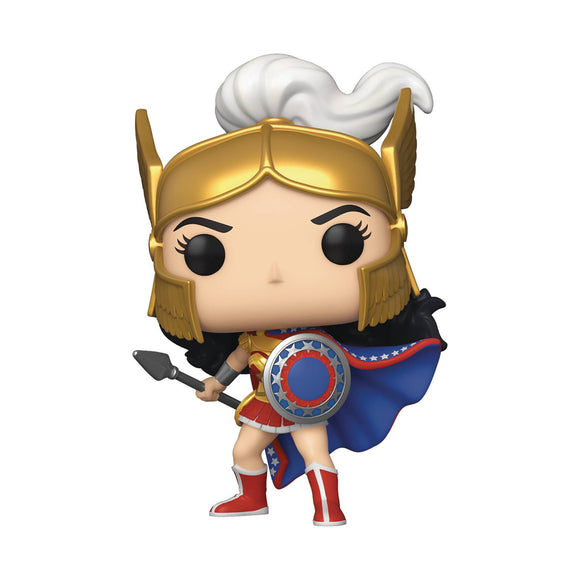 POP HEROES WONDER WOMAN 80TH WW CHALLENGE THE GODS VINYL FIGURE