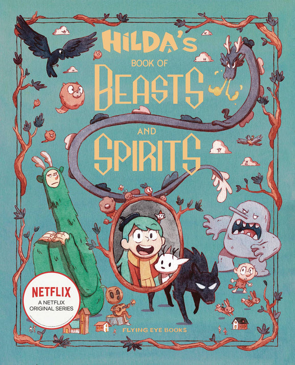 HILDAS BOOK OF BEASTS AND SPIRITS HC