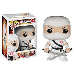 POP GI JOE STORM SHADOW VINYL FIGURE