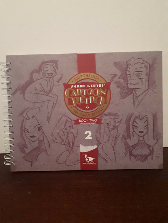 Cartoon Retro The Art of Shane lines Volume 2 Rare