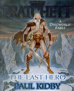 TERRY PRATCHETT THE LAST HERO HC