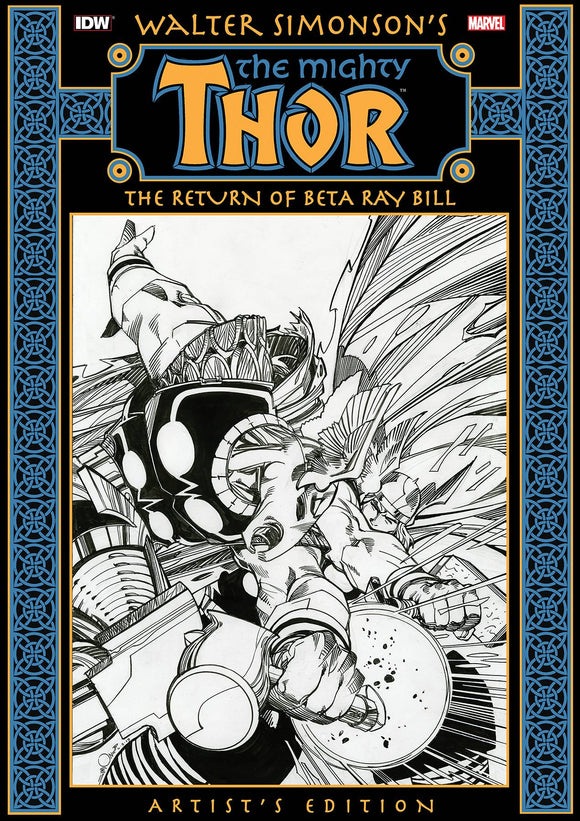 WALTER SIMONSON THOR RETURN OF BETA RAY BILL ARTIST ED HC