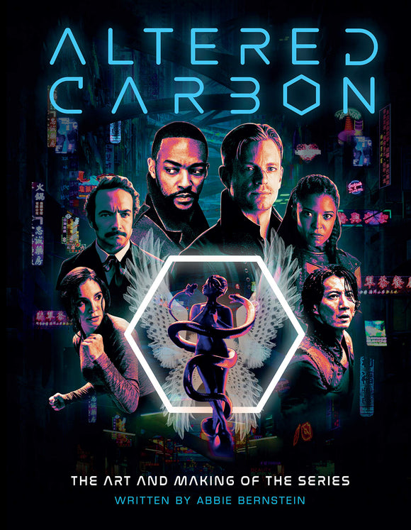 ALTERED CARBON ART AND MAKING THE SERIES Hardcover