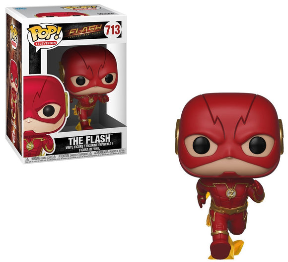 POP TELEVISION THE FLASH FASTEST MAN ALIVE THE FLASH VINYL FIGURE