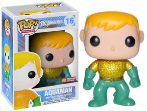 POP DC HEROES AQUAMAN NEW 52 PX EXCLUSIVE VINYL FIGURE