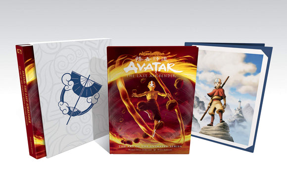 AVATAR ART OF THE LAST AIRBENDER ART OF THE ANIMATED SER DLX
