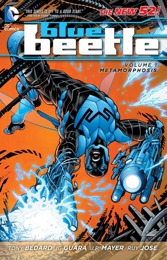 Blue Beetle Vol. 1: Metamorphosis (The New 52) Paperback