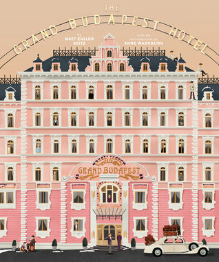 WES ANDERSON COLLECTION THE GRAND BUDAPEST HOTEL HC